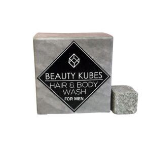 Kietasis šampūnas ir kūno prausimosi priemonė vyrams Beauty Kubes