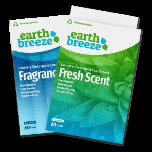 Natūrali skalbimo priemonė juostelėmis Earth Breeze