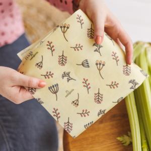 Vaškainio bičių vaško maišelis Pastelinės žolelės
